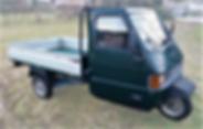 Piaggio Ape TM P703 grote tuktuk Molto B