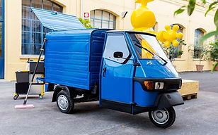 Piaggio Ape 50 Euro 4 Blauw Nieuw Molto