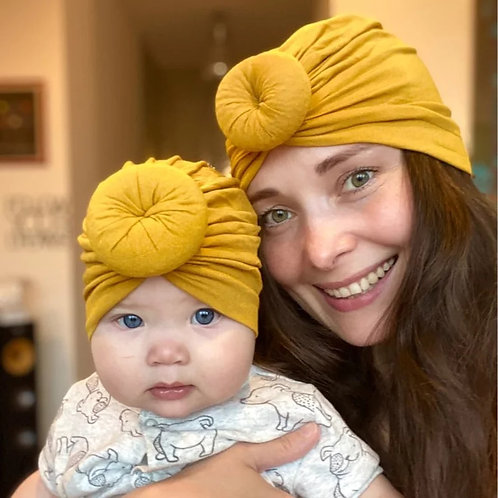 Adult & Child Turban Set (more colours)