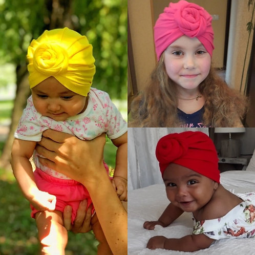 Top Knot Turbans (More Color Options)