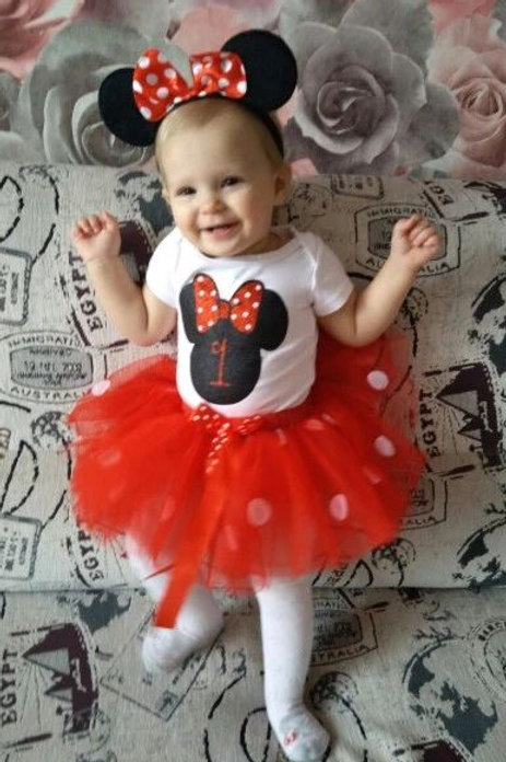 Minnie Birthday Outfits (1 & 2 Years)