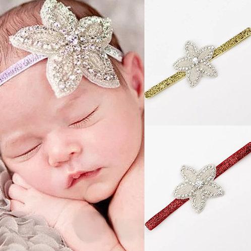 Rhinestone Star Headbands (More Colour Options)