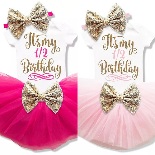 1/2 Birthday Outfit (More Color Options)