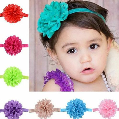 Chiffon Flower Headband (More Colour Options)