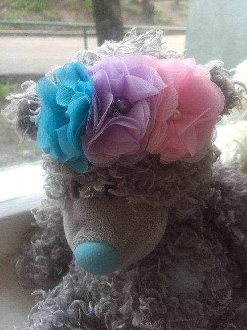 Floral Pearl Headband