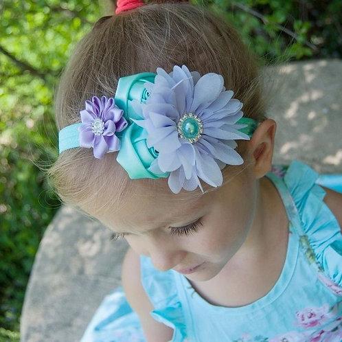 Pearl Rose Headband