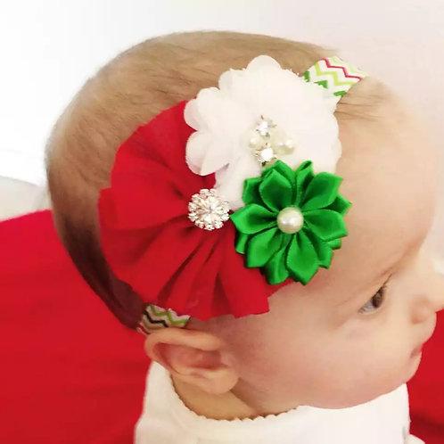 Floral Trio Headband