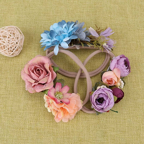 3 pcs/pack Colorful Flowers