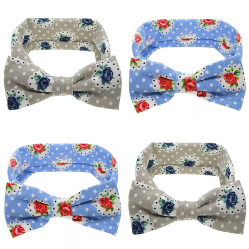 Bow Headband (Two Colours)
