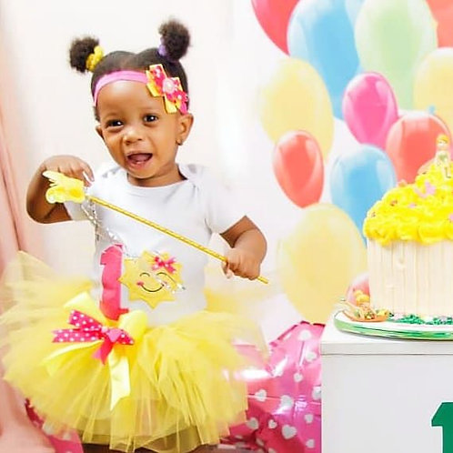 Sunshine 1st Birthday Outfit