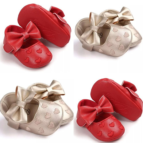 Baby Bow Moccasins