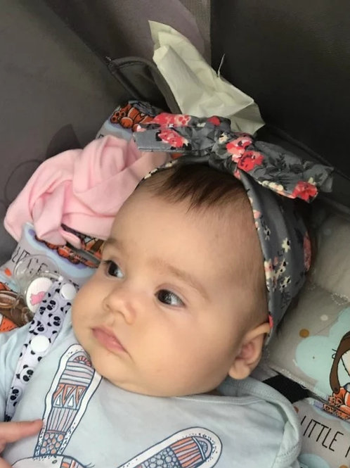 Floral Bow-Knot Headband (Two Colours)