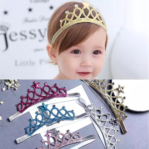 Princess Tiara Headband (More Colour Options)