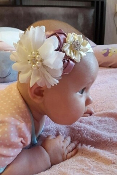 Pearl Rose Headband (Two Colours)