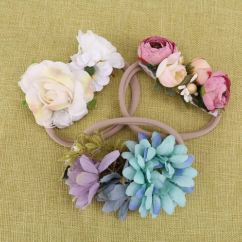 3pcs/pack Colorful Flowers