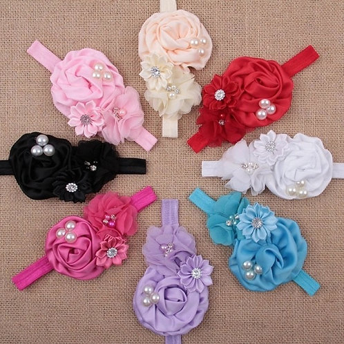 Pearl Flower Headband (More Color Options)