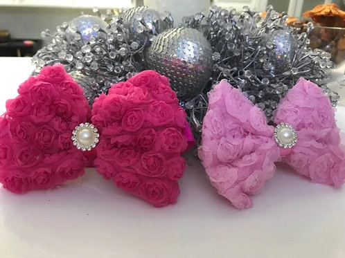 Floral Bow Headband (More Colour Options)