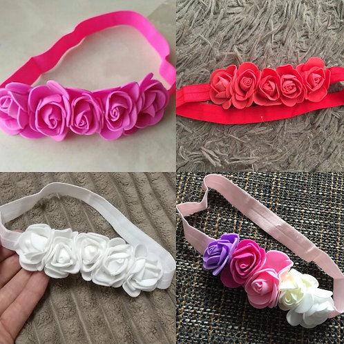 Floral Headband (More Color Options)