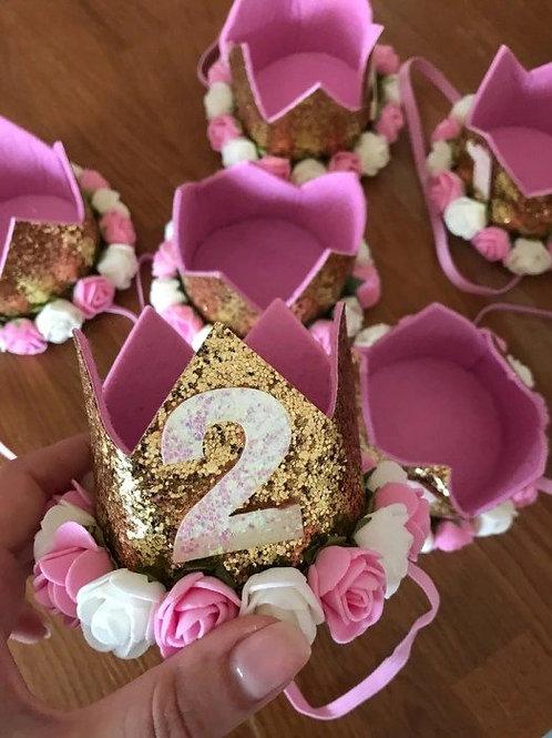 2nd Birthday Crown