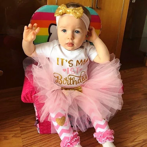 My 1st Birthday Outfit (More Color Options)