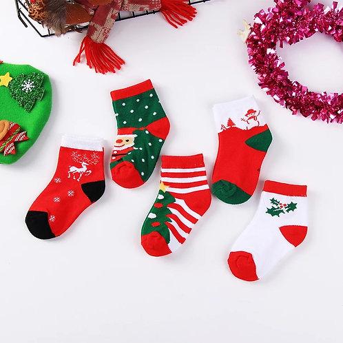 Christmas Socks (5 Pairs)