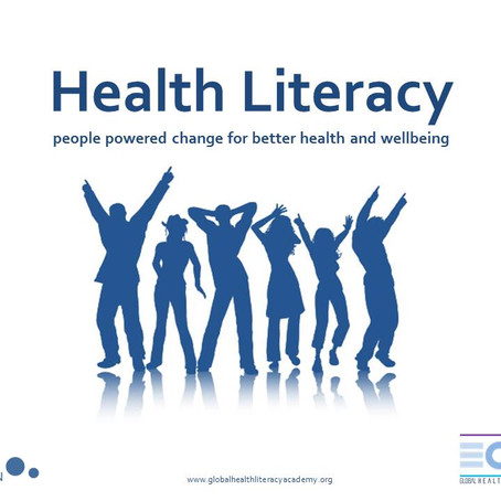 Health literacy: people powered change