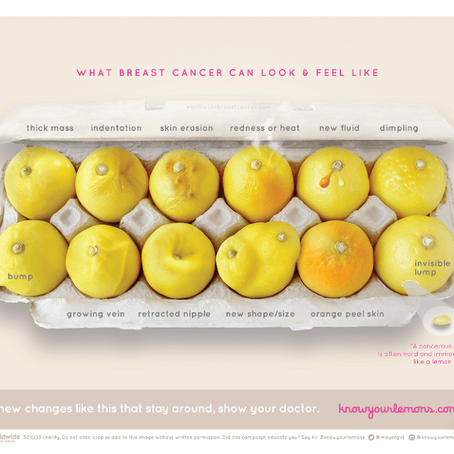 Know Your Lemons - great example of advancing health literacy