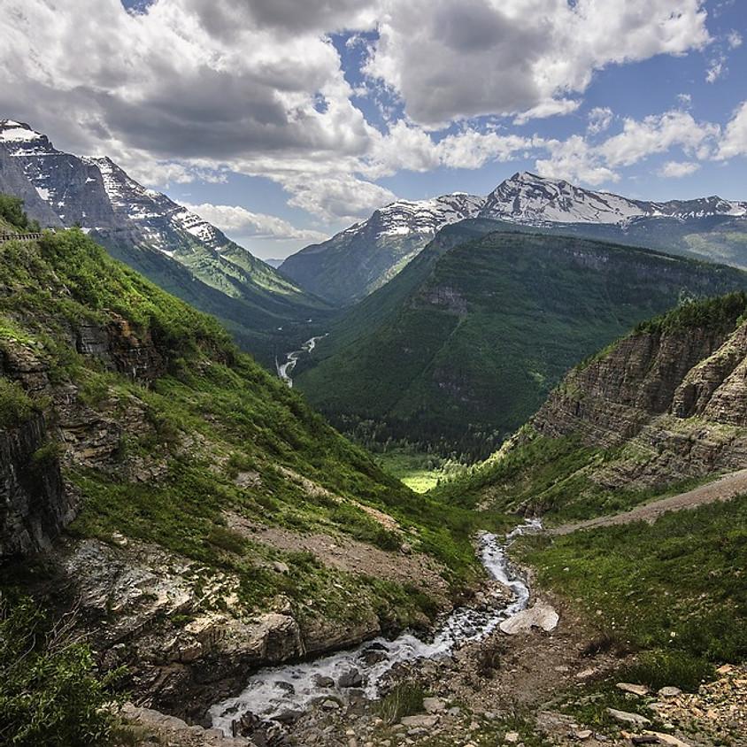 Rescheduled for summer 2021,Outdoor Adventure in Glacier National Park, Montana