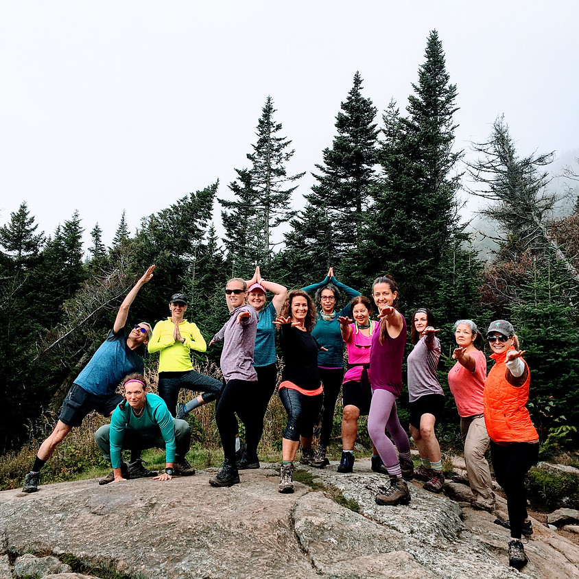 2 night/2 day-Nurture Yourself in Nature: Trail yoga/hike and more