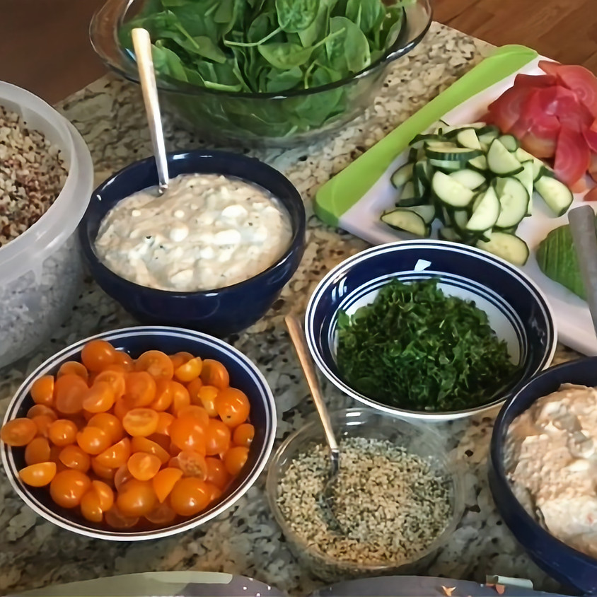 Plant Based Cooking Workshop Sponsored by the Morse Institute Library, Natick