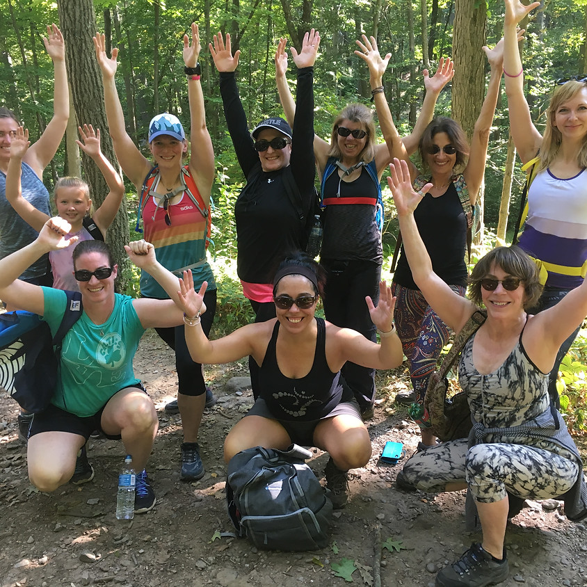 Summer Hike and Trail Yoga in the Blue Hills