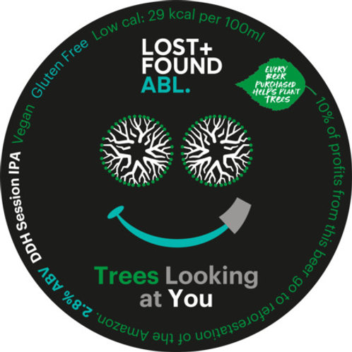 Lost+Found Trees Looking At You 30ltr Keykeg