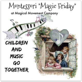 Montessori Magic Friday: 3-Part Cards~Children and Music Go Together!