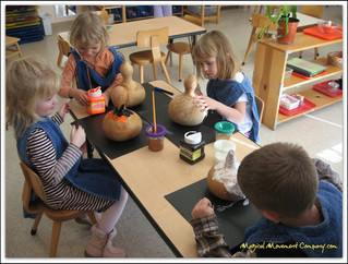 Montessori Magic Friday: Make a Gourd Rattle