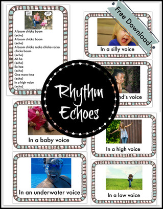 Montessori Magic Friday: Musically Montessori~Rhythm Echo Activity Cards