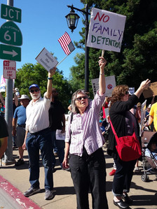 Taking action on the main street corner of Castro Valley