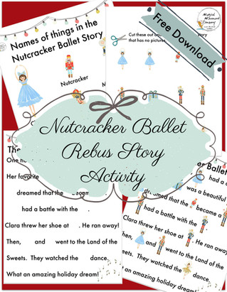 "Montessori Magic Friday: ""Nutcracker Ballet Rebus Story Activity"" and lots more!"