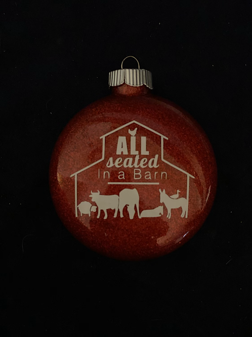 ASIAB Red Ornament
