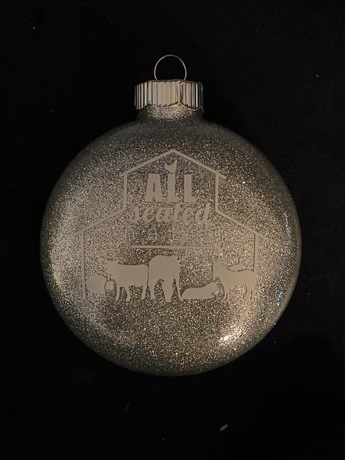 ASIAB Silver Ornament