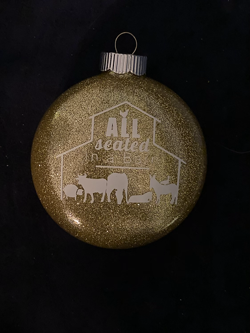 ASIAB GOLD Ornament