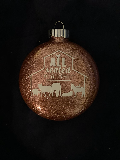 ASIAB Pink Ornament