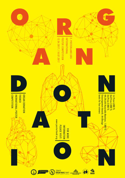 """2nd INTERNATIONAL ORGAN DONATION POSTER COMPETITION"""" (APRIL 12th –  SEPTEMBER 10th 9c1966a702671"""