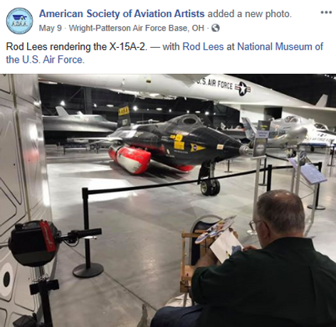 Rod Lees at NMUSAF May 2019.PNG