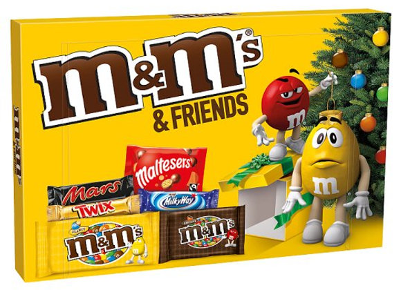 M&M's And Friends Medium Selection Box 144G