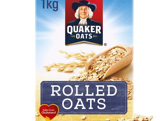 Quaker Traditional Rolled Oats Porridge 1Kg