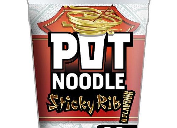 Pot Noodle Sticky Rib 90G