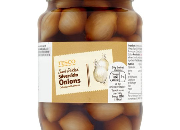 Sweet Silver Skin Onions In Vinegar 710G