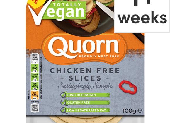 Quorn Vegan Chicken Free Slices 100G