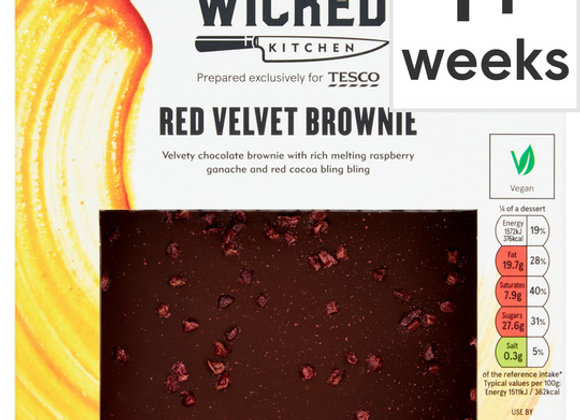 Wicked Kitchen Red Velvet Brownie 390G