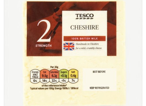 Tesco Cheshire Cheese 220g